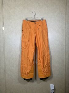 Patagonia H2NO Men's Medium Ski Snowboard Snow Winter Pants (RARE Orange)
