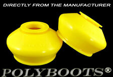 2x Polyboots Tuning Polyurethane Ball Joint Dust Boots 19x40x32 mm Yellow