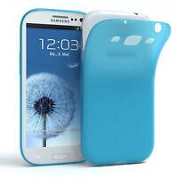 Schutz Hülle für Samsung Galaxy S3 / Neo Cover Handy Case Matt Hellblau