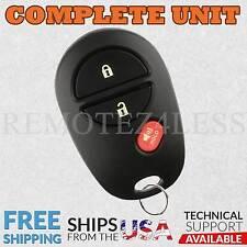 for Toyota Highlander Sequoia Tacoma Tundra Keyless Remote Car Entry Key Fob