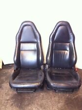 TOYOTA MR2  SET FRONT REAR LEATHER complete SEATS PASSENGER DRIVER DOOR CARDS