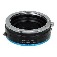 Fotodiox Objektivadapter Pro Shift Adapter Canon EOS für Fujifilm X Kamera