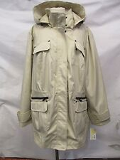Michael Kors Plus Size 3X Sand Hooded Anorak Jacket MSRP $200 X32