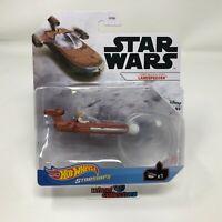 Landspeeder Luke Skywalker's Star Wars * 2021 Hot Wheels STARSHIPS Case J