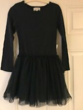 BOHO LIVING DOLL Girls Black Dress (Child Size 8) - New without tags