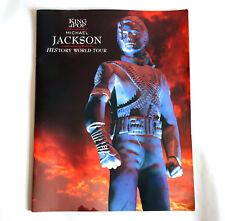 MICHAEL JACKSON History World Tour 1996 JAPAN CONCERT PROGRAM BOOK