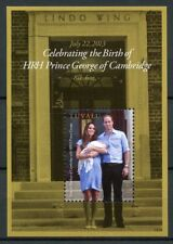 Tuvalu 2013 MNH Prince George Royal Baby William & Kate 1v S/S Royalty Stamps