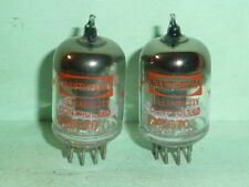 Raytheon 5670 2C51 396A 6N3P Tubes - Matched Pair, Tested, Matched Codes