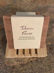 Tobacco Flower All Natural Vegan Handmade Soap