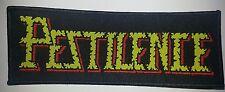 PESTILENCE - Aufnäher Patch - logo 14x5cm