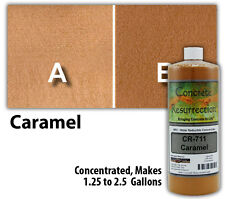 Professional Easy to Apply Water Based Concrete Stain - Caramel