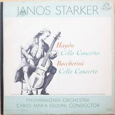 Scarce Janos Starker - Haydn Cello Concerto - Boccherini Cello Concerto - NM-