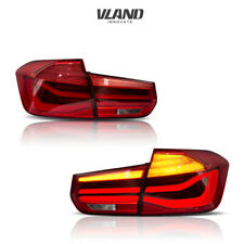 LED Tail Lights For 2012-2016 BMW F30 318I 320I 328I 4 Door Sedan Rear Light Red