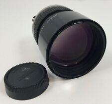 Nikon Nikkor 135mm F2 Manual Focus lens AI-s digital film SLRs EXC glass