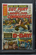 Sgt Fury and His Howling Commandos King Size Annual #2 Marvel Comics 1966 6.0