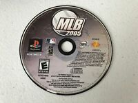 MLB 2005 - Playstation 1 PS1 - Cleaned & Tested