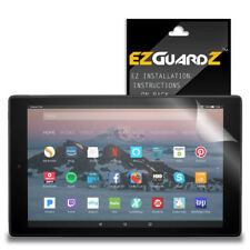 2X EZguardz Clear Screen Protector Shield HD 2X For Amazon Fire HD 10 (2017)