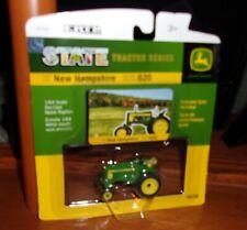 John Deere 620 WF State Tractor New Hampshire DieCast 1/64 Scale NIP Ertl 1:64