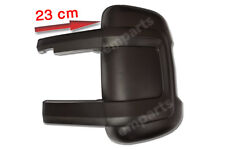 FIAT DUCATO CITROEN RELAY Door Mirror Casing Cover BLACK LONG ARM Left N/S 2006