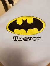 Personalized Embroidery Blanket Batman 36x58 inches