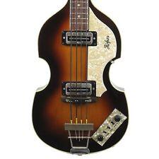Vintage 1975 Hofner 500/1 Electric Violin Bass Sunburst Made in Germany