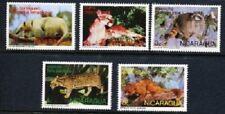1974 Nicaragua - Native Wildlife (5) MUH