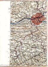 Nowy Dwór Zakroczym Błonie 1914 orig. Karte /Ln. Grodzisk Wiskitki Zawady Głusk