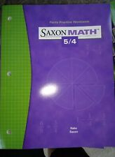 Saxon Math 5/4: Fact Practice Workbook by SAXON PUBLISHERS