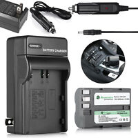 2200mAh EN-EL3e Battery Pack + Charger for Nikon D700 D300 D200 D80 D90 D70s D50