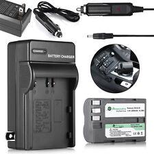 2200mAh EN-EL3e Battery Pack + Charger for Nikon D700 D300 D200 D80 D90 D70s D50