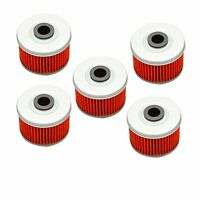 5x Oil Filter For Honda Rancher 350 420 TRX300EX TRX400 Foreman 500 Fourtrax 300