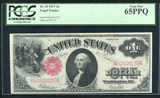 FR. 39 1917 $1 ONE DOLLAR LEGAL TENDER UNITED STATES NOTE PCGS GEM UNC-65PPQ