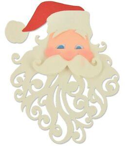 Sizzix Thinlits Santa 3pk #661299 Retail $19.99 by Pete Hughes UK Exclusive