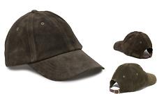 POLO RALPH LAUREN Suede Baseball Cap Exc SAG HARBOR Hat Olive Caps BNWT RRP£109
