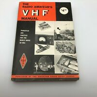 1972 Radio Amateur's VHF Manual ARRL American Relay League Vintage A2