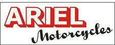 M027 Ariel Antique Vintage Motorcycle Bike garage banner