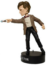 11th Dr Doctor Who Light Up Sonic Screwdriver Smith BobbleHead Wacky Wobbler
