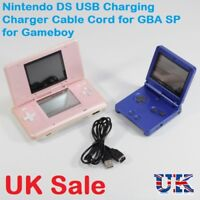 USB Charging Cable Nintendo DS & Game Boy Advance SP GBA NDS - NEW Charger Lead