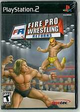 Fire Pro Wrestling Returns (Sony PlayStation 2, 2007): New and Sealed!