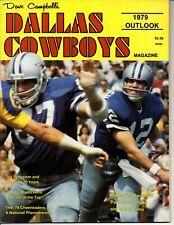 1979 Dave Campbell's Dallas Cowboys Season Outlook Magazine Staubach