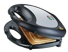 Sandwich-Toaster Melissa 16240075 Sandwich-Maker Sandwich-Toastautomat schwarz