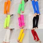 Women's Fashion Crochet Knit Solid Color Winter Wool Leg Warmers Legging Socks