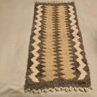Salish Weaving Small Rug Hanging Made in Canada 28.5 x 14.5 inches