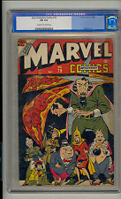 Marvel Mystery #79 CGC 6.0 FN Unrestored Human Torch Toro Old Label CR/OW Pages