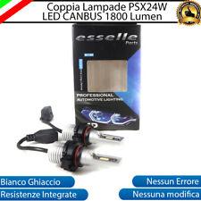 COPPIA LAMPADE FENDINEBBIA A LED PSX24W FIAT FREEMONT CANBUS NO ERROR 6000K