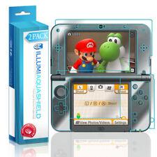 2x iLLumi AquaShield HD Screen + Back Protector for New Nintendo 3DS XL (2015)