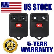 CarBole New x2 Keyless Entry Remote Key Fob for Ford 1998-2016 F-150 F-250 F-350