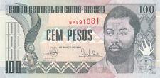Billet banque GUINEE GUINE BISSAU 100 PESOS 1990 NEUF NEW UNC