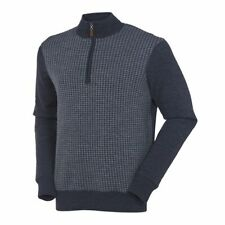 SUNICE GOLF YORK GREY 5706 MENS MERINO GORE WINDSTOPPER LUXURY PULLOVER SML :36""