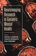 NEW - Neuroimaging Research in Geriatric Mental Health